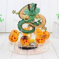 Wholesale Dragon Ball Shenron - 15cm Dragon Ball Z Action Figures Shenron Dragonball Z Figures Set Esferas Del Dragon+7pcs 3.5cm Balls+Shelf Figuras DBZ
