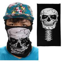 fahrradrohre großhandel-Fahrräder Masken Radfahren Motorrad Halsrohr Ski Schal Halloween Gesichtsmaske Balaclava schnell trocknend Winddicht Balaclava # 4S04