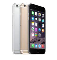 apple iphone großhandel-Ursprüngliches 4.7inch 5.5inch iPhone 6 iphone6 plus IOS 1.4GHz Telefon 8.0 Mp-Kamera 3G WCDMA 4G LTE entriegelte refurbished Handys