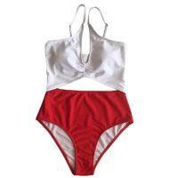 Wholesale siamese swimwear online - Women Push Up Padded Bra Beach Bikini Set Swimsuit Sexy Siamese Swimwear