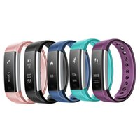 Wholesale heart rate monitor for iphone - ID115 Sports Smart Band Bluetooth Bracelet Smartwatch Wristband Pedometer Sleep Monitor Wearable Device Fitness Tracker for iPhone Samsung