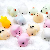 Wholesale Toy Seal Animal - Free shipping DHL Squishy toys adorable pet seals small dumpling Jun wholesale squeezed decompression Cat Squishiy Fashion Rare Animal