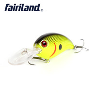 Wholesale 7cm Lures - Crankbait Fishing lure 7cm 2.8in 15g 0.53oz Thrill Thunder Floating Fishing Lure Rattle Sound Wobbler Artificial Hard 10 colors