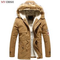 Wholesale Formal Hoodie - 2017 New Arrival Hoodies Men's Parka Brand Clothing Winter Men Cotton Thick Warm Formal Down Jackets Male Casual Zipper Coats