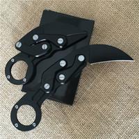 mejor equipo de campamento al por mayor-El mejor cuchillo Morphing mecánico Karambit cuchillo plegable garra cuchillo óptico equipo al aire libre cuchillos de camping herramientas de regalo de Navidad para los hombres