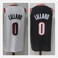 Wholesale cheap jerseys wholesalers - NCAA 2018 New Men's #0 Lillard Jersey ,Embroidery shirts Wholesale Cheap All Stitched RipCity Lillard Basketball Jersey 10free DHL mix order