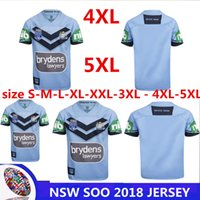 Wholesale Shirts Large - NSW SOO 2018 JERSEY NRL National Rugby League Thai quality Queensland Maroons Rugby jerseys NSWRL Holden shirts Extra large size S-4XL-5XL
