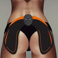 massagem muscular venda por atacado-2018 EMS elétrica Hip Massagem estimulador muscular instrutor Anti Celulite recarregável Buttock elevação Enhancer Tone Up dispositivo Massager