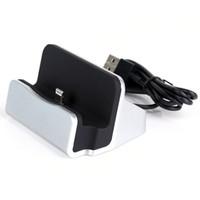 muelle de carga del teléfono móvil al por mayor-Base del cargador Base de acoplamiento de sincronización de carga micro USB de calidad superior universal para teléfono móvil usb para el teléfono celular