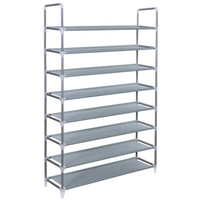 Wholesale metal shelves for bathroom resale online - Borndo Storage Tier Shoe Rack Pairs Shoe Organizer Shoes Storage Shelf Shoe Tower No Tools Required Non woven Fabric for Home Bedroom