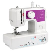 Wholesale Mini Embroidery Machine - Mini Household Sewing Machine with 12 Different Stitches EU US Plug Adjustable Speed USB Socket 3 Color Sewing Machine for Home