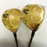 Wholesale golf clubs fairway woods for sale - Group buy New Golf Clubs man Majesty Prestigio Golf Fairway Woods Clubs wood Graphite Golf shaft wood headcover