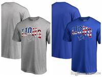 dfb172e6a Men s T-Shirt Detroit Lions Pro Line by Fanatics Branded Big   Tall Banner  Wave T-Shirt - Heathered Gray Dark blue