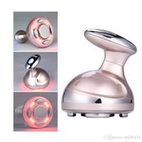 máquinas de emagrecimento venda por atacado-RF Cavitação Ultrasonic Máquina de Emagrecimento Queimador de Gordura LED Anti Celulite Lipo Emagrecimento massager Da Pele Máquina de Beleza Da Perda de Peso