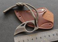 facas da selva venda por atacado-Ao ar livre mc garras faca de caça sobreviver tático faca da selva campo mini edc camping facas de caça ferramentas de coleta de presente