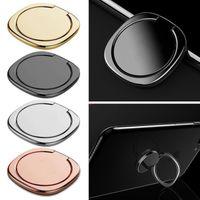 iphone tischten großhandel-360 Grad-Metallfinger-Ring-Halter-Smartphone-Handy-Finger-Stand-Halter für iPhone Samsung-Tablettenberg GGA618 100pcs