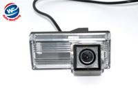 câmera de estacionamento toyota venda por atacado-CCD HD Reverso Do Carro de Backup Retrovisor Do Carro invertendo Estacionamento Câmera Kit Para Toyota Land Cruiser LC100 2.9 cm * 6.7 cm