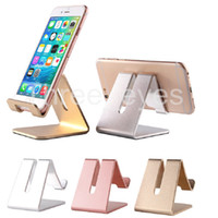 Wholesale Universal Car Holder Car Mount Mobile Phone Stand Holder Aluminum Metal Cell Phone Tablet Support For iPhone iPad Samsung etc