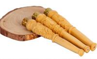 ingrosso legno scatolato di legno-Intaglio del legno di bosso intaglio del legno intaglio del legno pieno di bocchino titolare di sigaretta tipo salute misto una varietà di modelli