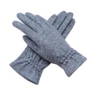 многоцветные пальцы теплые перчатки оптовых-Высокое качество женщин шерстяные перчатки сенсорный экран перчатки пять пальцев зимние теплые перчатки мульти цвета