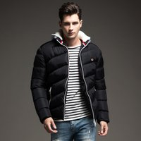 Wholesale Formal Clothes Men - New Brand Clothing Winter Jacket Men Fashion Hooded Men's Jacets and Coats Casual Thick Coat for Male Warm Overcoat Outwear 4XL