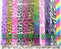 leopar boyun askısı toptan satış-Toptan-50 adet yeni karikatür leopar desen zebra \ gökkuşağı karışık kordon anahtarlık boyun kordon mp3 \ mp4 cep telefonu kimliği tutucu ücretsiz nakliye