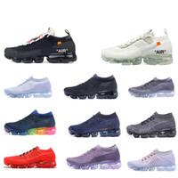 brand new 5e416 48194 2018 Vapormax Hommes Femmes Chaussures De Course Pour Hommes Femmes Sneakers  Mode Athlétique Sport Chaussures Vapeur Randonnée Jogging Marche En Plein  Air ...