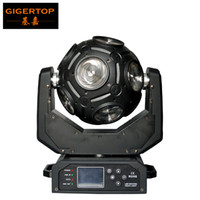 Wholesale beam lighting moving resale online - Freeshipping Gigertop TP L1025 x20W Led Moving Head Beam Light Universal Ball Beam Light RGBW in1 Cree with Hooks Channel