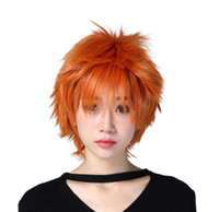pelucas alicia al por mayor-Envío gratisnew ¡Venta caliente !!! Moda Cosplay naranja Anti-Alice Wig