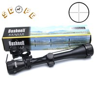 pistola de aire al por mayor-BUSHNELL 3-9X40 Alcance Riflescope Caza Venado Sniper Alcance Óptico Pistola de Aire Rifle Al Aire Libre Tactical Reticle Sight Scope
