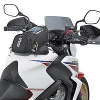 réservoir d'huile pour moto achat en gros de-GIVI moto nouveau sac de carburant téléphone portable navigation sac multi fonctionnel petit réservoir d'huile package sangles fixes magnétiques fixes gv3