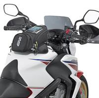 ingrosso moto mobile-GIVI Motorcycle new fuel bag borsa di navigazione del telefono cellulare multi funzionale piccolo serbatoio olio pacchetto magnetico cinghie fisse gv3 fisso