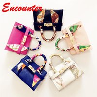 Wholesale childrens girls bags - Encounter 2018 New Colors Totes for Childrens Baby Kids Small Size handbags Toddlers Brand new Shoulder bags Little baby girls BAGS EN113