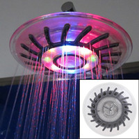 Wholesale round led shower for sale - Group buy TIMETOP Romantic Mixed color LED Shower Head Bathroom Sprinkler