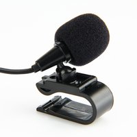 Wholesale car shaped radios resale online - BBGear Mini External Microphone mm Jack Plug Car Audio Wired Microphones with U Shape Clip Mic for Car DVD Radio Music Player