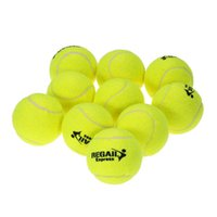 ingrosso gomma palla da tennis-Palline da tennis durevoli di addestramento di gomma di 10pcs / bag per le donne Tennis di addestramento ad alta resistenza della palla da tennis di pratica di esercizio di alta resilienza