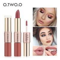 Wholesale mate lip gloss for sale - Group buy O TWO O Brand in Matte Lipstick Lips Makeup Cosmetics Waterproof Pintalabios Batom Mate Lip Gloss Rouge colors N9107