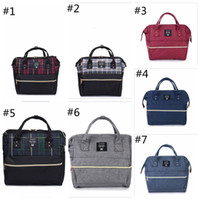 Wholesale Top Brand Bag Wholesale - Functional Mom Bag Waterproof Mummy Tote Bags Top Quality Oxford Diaper Shoulder Bag Brand Mother Handbags Men Duffel Bags YYA1295