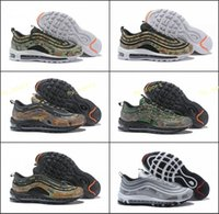 Wholesale sneaker shoes uk online - 2018 New Country Camo Italy UK Army Green Running Shoes Men s Camouflage Ultra Bullet M Premium Zoom Trainers Sneakers