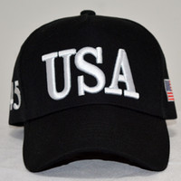 Wholesale usa personalities - Usa Baseball Cap Men Women Ventilation Moisture Absorption Embroidery Designer Hats Sun Shading Peaked Cap Fashion Personality 10ds cc