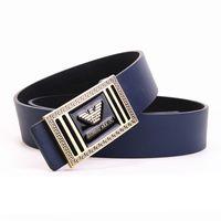 jeans de marca de hebilla al por mayor-Cinturones de cuero al por mayor de hombres y mujeres cinturones de diseño de marca hebilla lisa PU cinturones de cuero para hombres Cinturón de lujo masculino ceinture