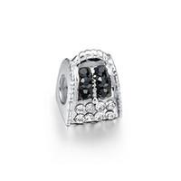 Wholesale Pandora Castle - Princess Castle Charm Loose Beads pandora Style Charms Beads for European Bracelet & Necklace Jewelry Accessories
