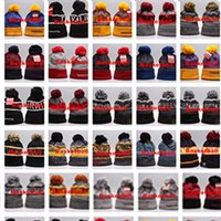 Wholesale golf cap sale for sale - Group buy Hot Sale Mixed order New Winter Team Beanies Knitted Beanie Wool Knitting Outdoor Skiing Beanie Caps Sport Baseball Beanies Hats Cap