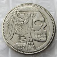 Wholesale Funny Money - BU(19)Hobo Nickel 1937-D 3-Legged Buffalo Nickel Rare Creative Funny Copy Coin