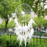 Wholesale DIY Handmade Dreamcatcher Handmade Wind Chimes Hanging Pendant Dream Catcher Home Wall Art Hangings Decorations