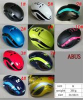 Wholesale tt helmets - Aero cycling helmet men movistar mtb mountain abuse bike helmet safety tt bicycle equipment Ciclismo 2018