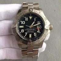 robuste uhr großhandel-Hochwertige Uhr der Luxusmode-Edelstahlarmbandoberteilkalender Superseekultur-Reihe schroffe Atmosphäremänner