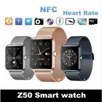 Wholesale gsm sim card for gps tracker for sale - Group buy Smart Watch Z50 New Style Bluetooth fashion Mini Camera Smart Watches stand by GSM SIM Card Touch Screen For Android ios