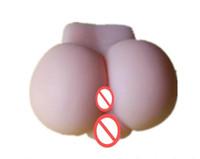masturbando brinquedos vagina sexo venda por atacado-2018 atacado Masculino masturbar brinquedo, masturbação ferramenta 100% silicone artificial vagina buceta bunda grande, adulto silicone boneca sexual, produtos do sexo