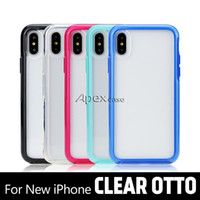 Wholesale iphone protective case for sale - Soft Frame mm Thickness Transparent Acrylic phone cases For IPhone X XR XS MAX Plus S full protective cellphone case